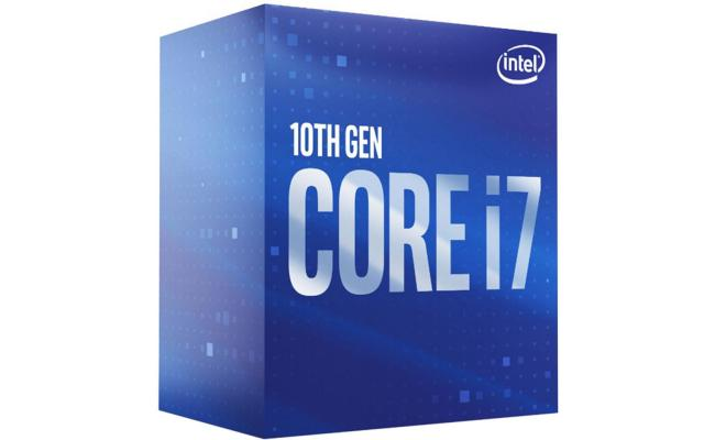 Intel® Core™ i7-10700F 8-core Up to 4.8Ghz 16MB