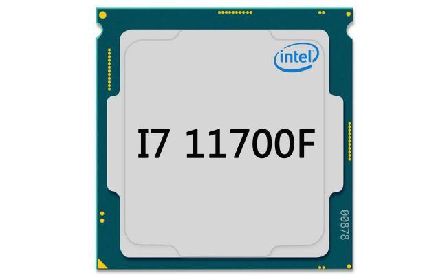 Intel Core i7-11700F Desktop Processor LGA1200,  8 Cores , 16 Threads up to 4.90 GHz (Tray)