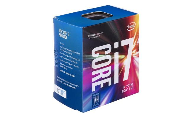 Intel Core i7-7700 Kapy Lake 4-Core (4.2 GHz Max Turbo)