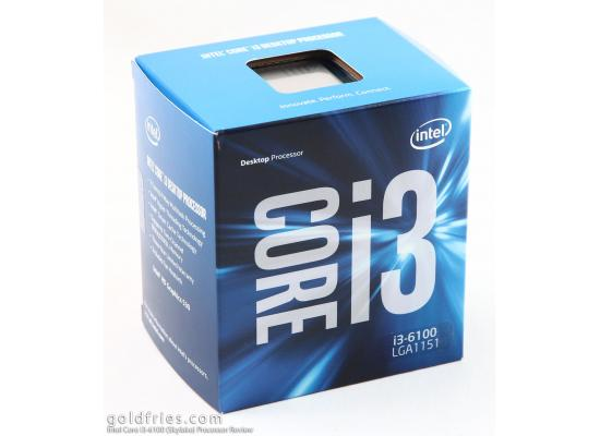 Intel Core i3-6100 Sky Lake 2-Core 3.7 GHz