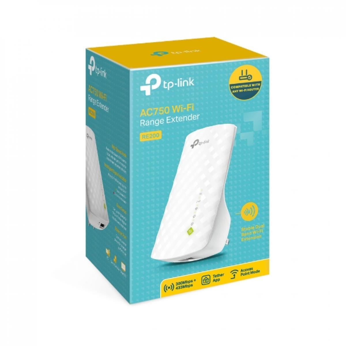 TP-LINK AC750 Wi-Fi Range Extender RE200