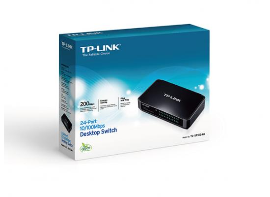 TP-LINK 24-Port 10/100Mbps Desktop Switch