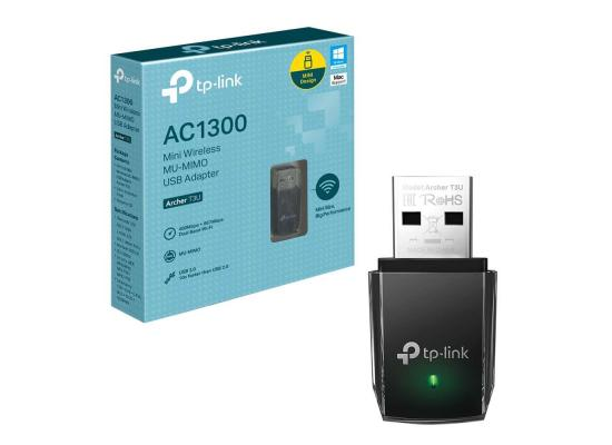 TP-Link AC1300 - USB 3.0 Mini WiFi Adapter 2.4G/5G Dual Band Wireless Network Adapter for PC Desktop
