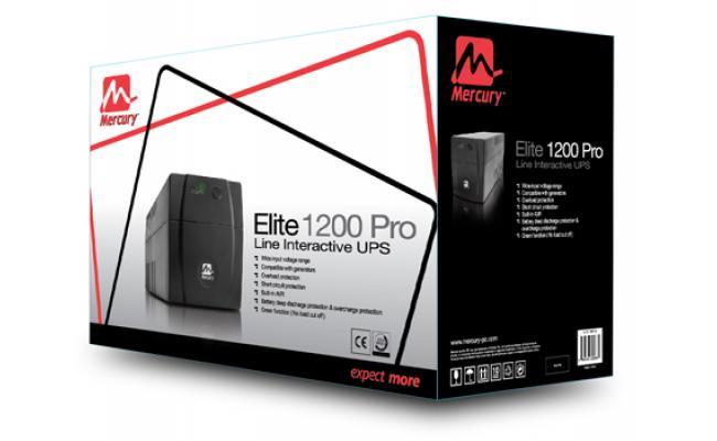 Mercury Elite 1200 Pro Line Interactive Ups