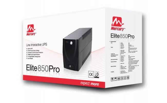 Mercury Elite 850Pro Line Interactive Ups